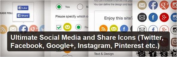 Ultimate Social Media Icons plugin for WordPress