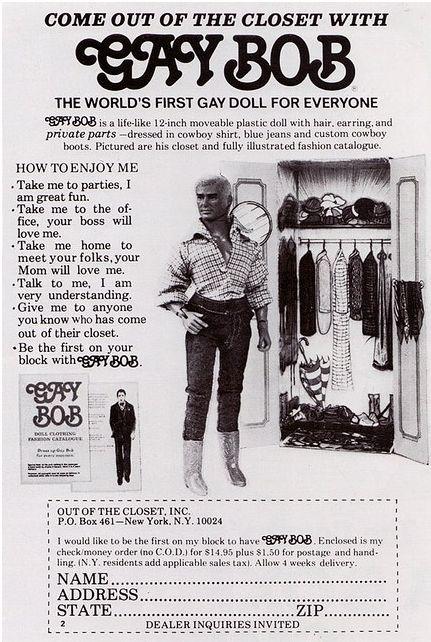 Funny Gay Bob Doll Photo Image