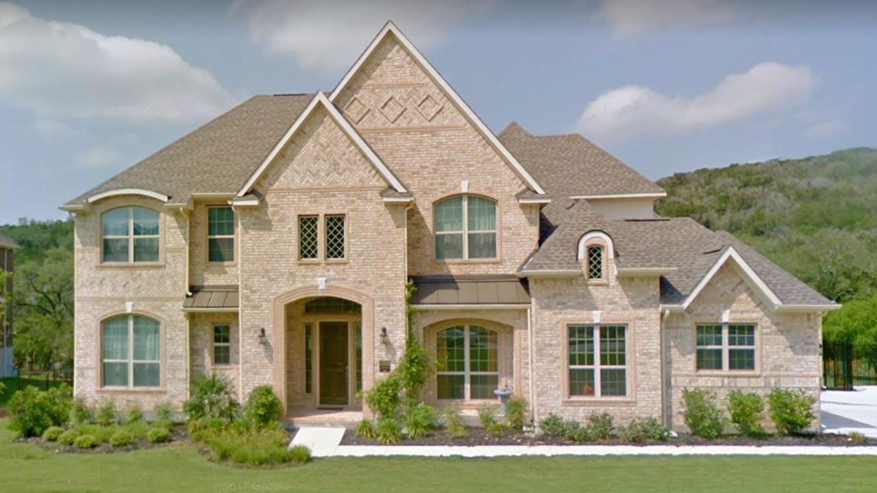 Casas bonitas americanas 5 casas americanas con piedra o ladrillo decorativo 1 - Casas americanas con porche ...