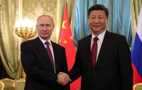 Путин и лидер КНДР
