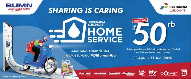 Pertamina Home Service diskon 50000