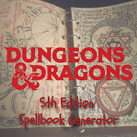 Free GM Resource: 5th Edition Spellbook Generator