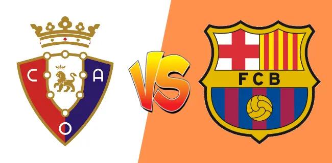 موعد مباراة برشلونة اليوم امام اوساسونا والقنوات الناقلة