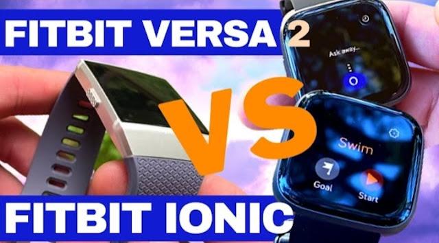 FITBIT VERSA 2 VS FITBIT IONIC