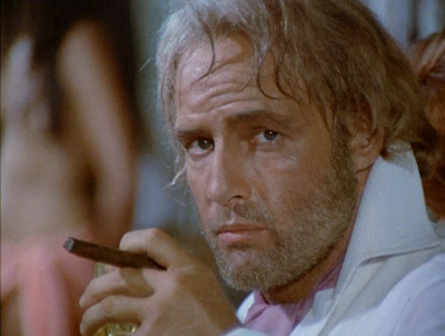 Marlon Brando as William Walker in Queimada (1969) aka Burn!, Directed by Gillo Pontecorvo
