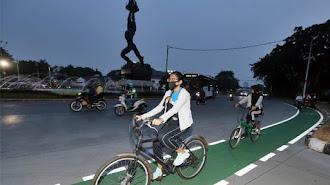 Bersepeda Aman dan Nyaman di Masa Adaptasi Kebiasaan Baru