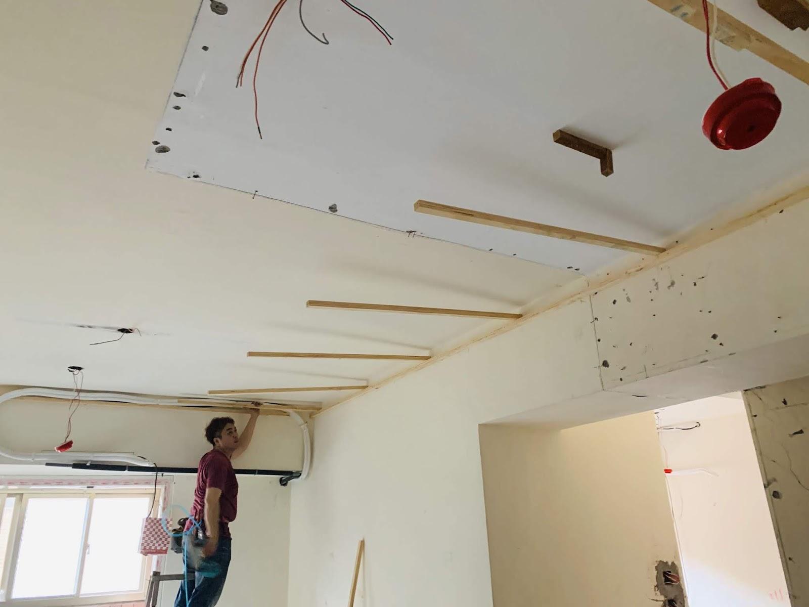 平釘天花板