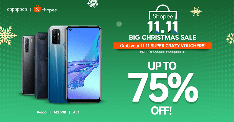 OPPO Shopee 11.11 Big Christmas Sale