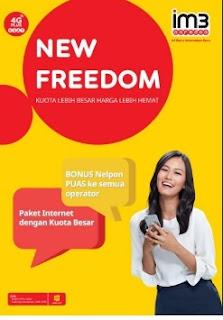 Smartphone tampa kuota internet bagaikan ada sesuatu yang kurang Dapatkan Kuota Nelpon GRATIS semua operator setelah pembelian paket New Freedom Indosat