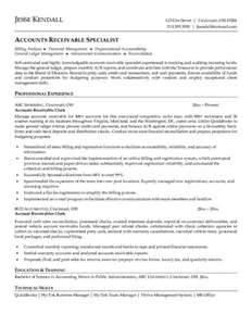 Reconciliation clerk resume sample - Billing Manager Resume Sample +