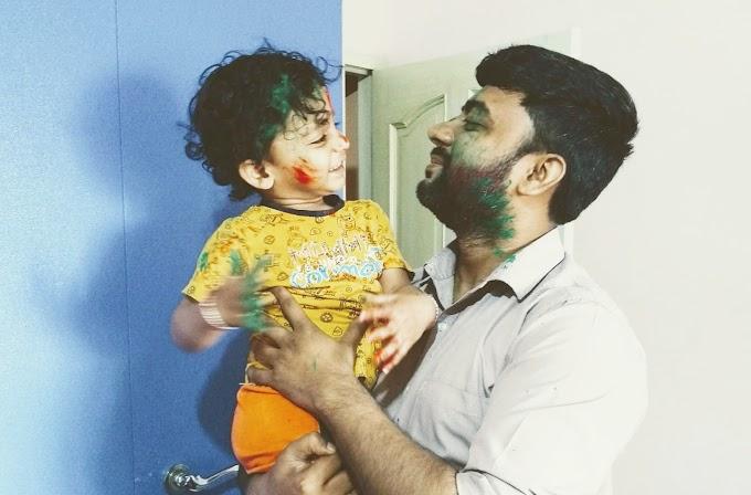 रूपेश त्योंथ केर होली विशेष कविता 'प्रेम रंग मे रंगि जो बौआ'