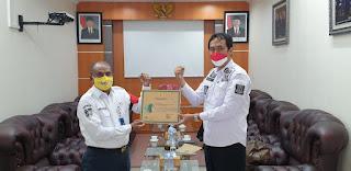 ASDP Merak Raih Penghargaan  Zero Accident dan P2K3 dari Gubernur Banten