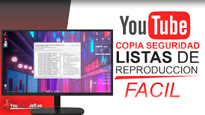 copia de seguridad youtube