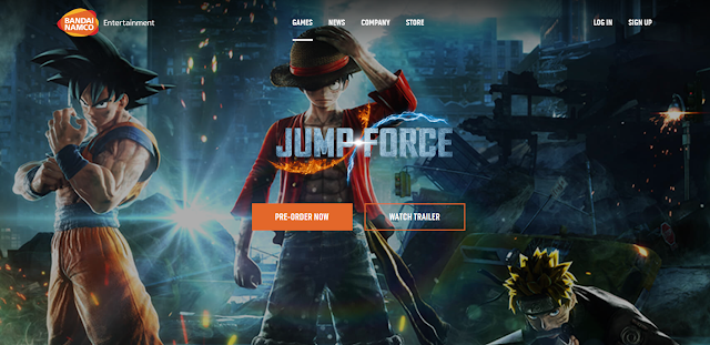 GAMESCOM 2018: Nuevo Trailer de Jump Force