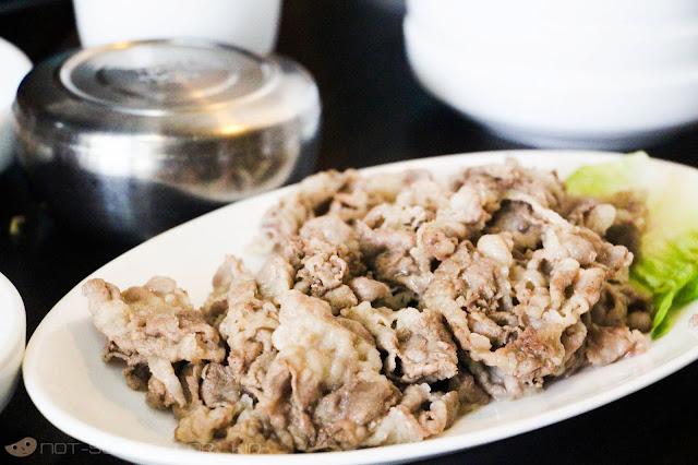 Chadolbaegi of MARU Korean Restaurant
