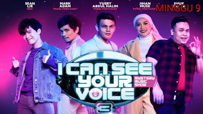 Live Streaming I Can See Your Voice Malaysia 2020 Minggu 9