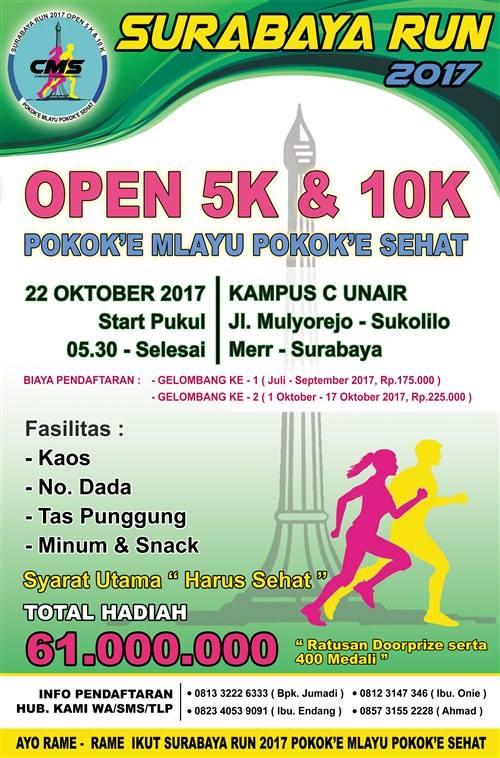 Surabaya Run Open • 2017