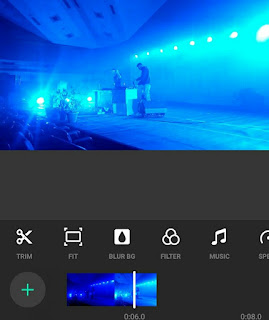 InShot is a super easy to use, really intuitive video editing app and that's something that was really surprising to me, just how powerful it is and how easy it is to use. It's probably the fastest app out there to be able to edit your videos down really quickly, but we're talking simple edits here, not really, really advanced edits. It's got really great color correction options and filters and things that you can apply across your video and it supports all the major video sizes or formats, making it perfect for creating social media content. It's also said the app itself, the overall interface is really really intuitive and easy to use and it's actually totally unlike any of the other more professional video editing applications. This is definitely on the simpler end and the more basic end, but it's still for what it is, it's really really powerful.