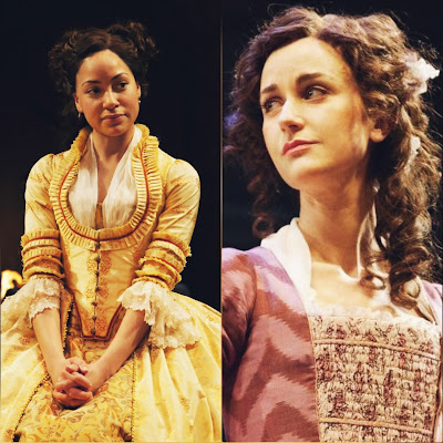 In the comedy She Stoops To Conquer Kate Hardcastle and Constance Neville our studies in contrast. In the comedy both the characters are beautifully sketched.