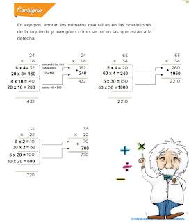 Respuestas Apoyo Primaria Desafíos Matemáticos 4to. Grado Bloque III Lección 57 Algo simple