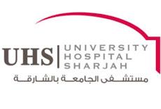 فرص وظيفية بمستشفى الجامعة بالشارقة