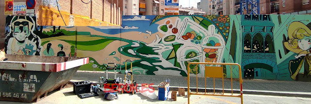 Graffiti mural nuñez y navarro