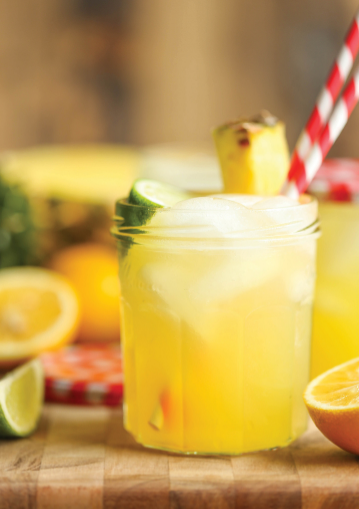 PINEAPPLE LEMONADE #drink #lemonade