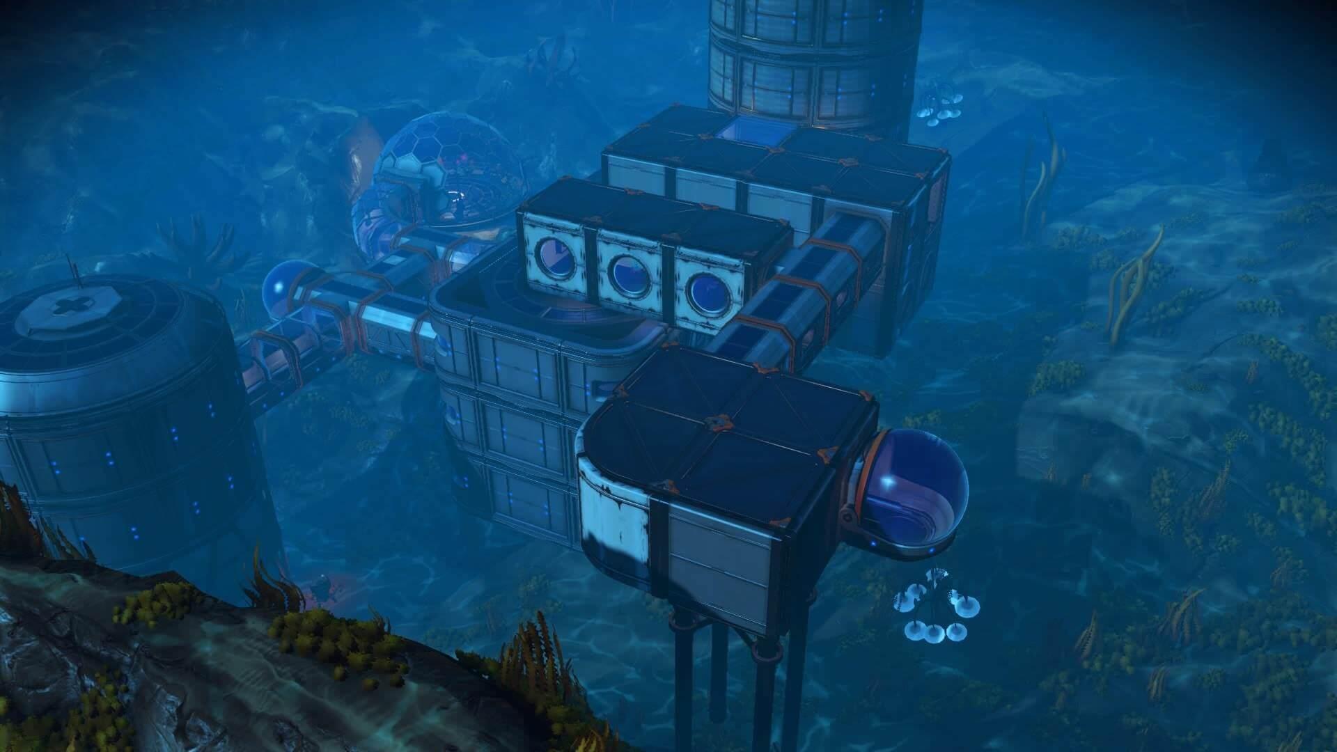 Build Underwater Buildings Anywhere
