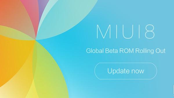ROM MIUI 8 Global Beta 6.11.3