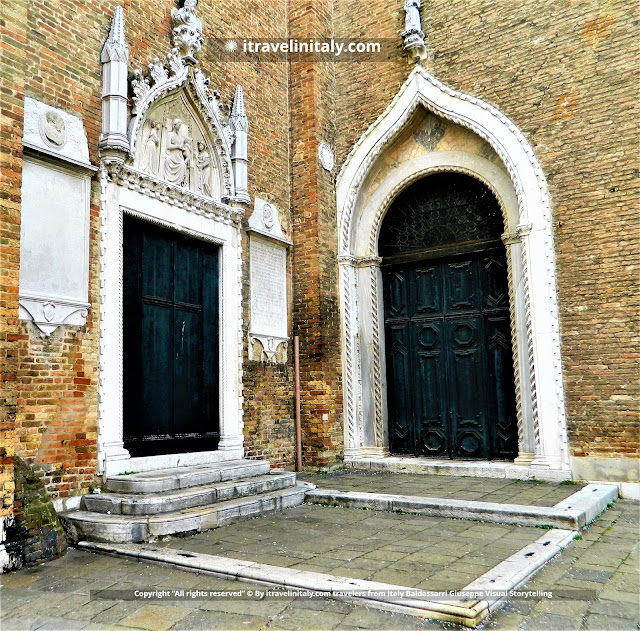 "Basilica of Santa Maria Gloriosa dei Frari Venezia Copyright ""All rights reserved"" © By itravelinitaly.com travelers from Italy Baldassarri Giuseppe Visual Storytelling."