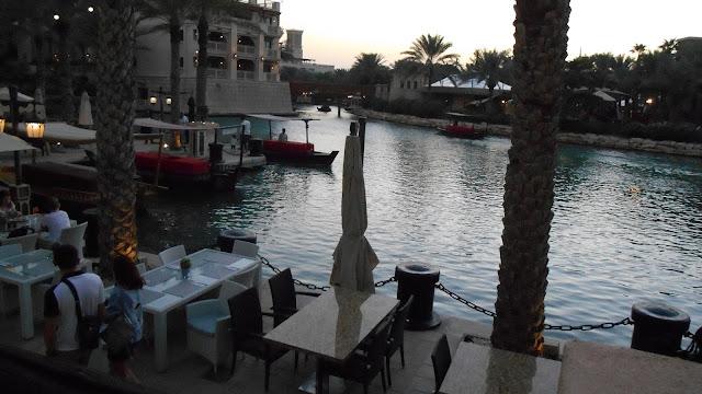 Водные каналы в Дубае