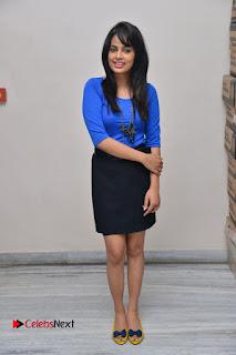 Actress Nandita Swetha Stills in Black Mini Skirt at Ekkadiki Potavu Chinnavada Movie Special Show  0067.JPG