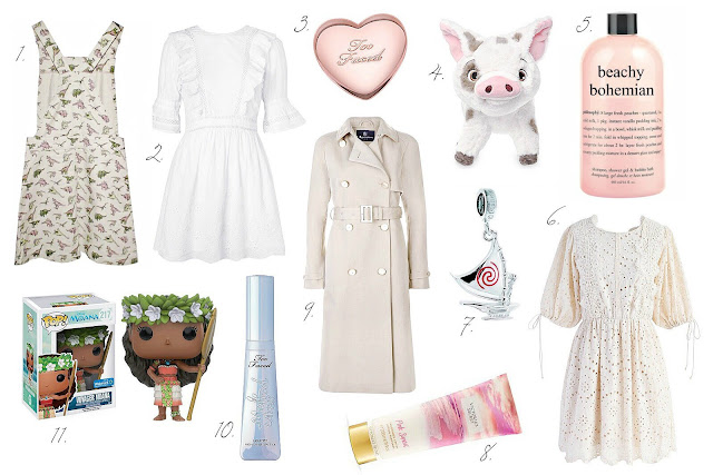 Summer blog pay day wish list