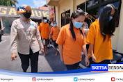 Polres Nganjuk Amankan Mucikari Penjual PSK Dibawah Umur