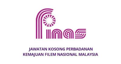 Jawatan Kosong FINAS 2020 Perbadanan Kemajuan Filem Nasional Malaysia