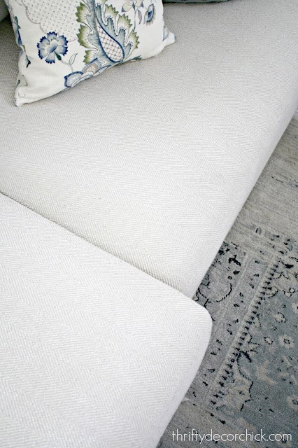 how to fix sliding couch cushions