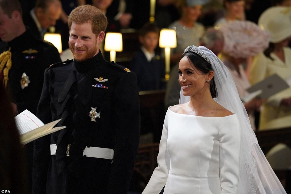 fd8e9320ec03 Dnes sa na Windsorskom hrade vzdialenom 40 kilometrov západne od Londýna  konala dlho očakávaná svadba britského princa Harryho a americkej herečky  Meghan ...