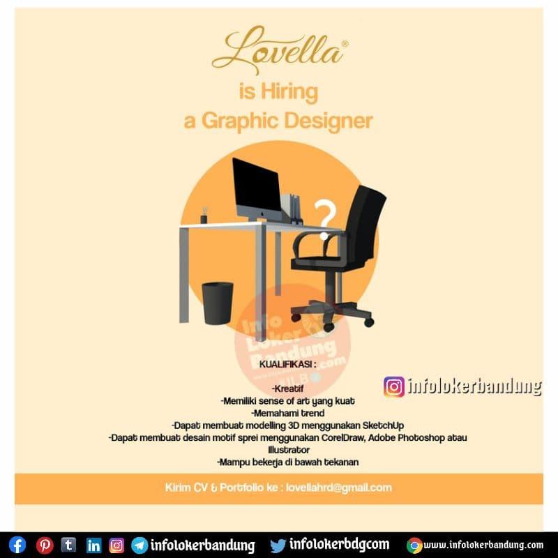 Lowongan Kerja Lovella Bandung Juni 2021