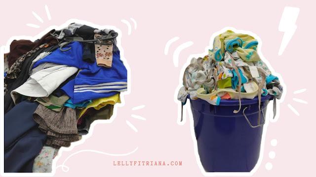 tumpukan cucian