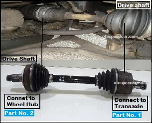 Komponen drive shaft