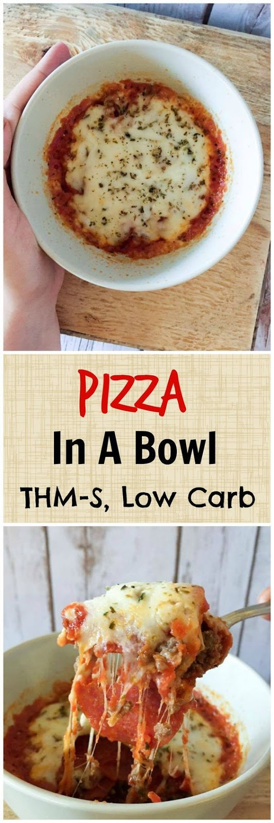 Pizza in a Bowl