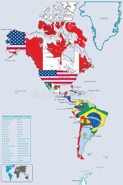 """Benua Amerika : Batas Wilayahnya dan Pembagian Wilayahnya Apa Itu Benua ? Benua adalah dataran luas yang berada di permukaan bumi. Luas daratan benua lebih besar dari pulau. Bumi ini secara umum memiliki 5 Benua yang diantaranya : Benua Asia Benua Australia Benua Amerika Benua Afrika Benua Eropa Namun kali ini artikel ini akan membahas mengenai Benua Asia, untuk bisa mengetahui dengan lebih lanjut silahkan disimak dengan sabagai berikut ini.  Batas Wilayahnya Batas-batas wilayah pada Benua Amerika di antaranya adalah sebagai berikut : Sebelah Utara : Laut Arktik Sebelah Timur : Samudra Atlantik Batas Selatan : Samudra Pasifik Sebelah Barat : Samudra pasifik  Pembagian Wilayahnya Benua Amerika terdiri dari tiga kawasan yang diantaranya Amerika Utara, Amerika Tengah, dan Amerika Selatan. Amerika Utara Negara yang masuk kawasan ini adalah Kanada, Amerika Serikat, dan Meksiko. Amerika Tengah Kawasan ini terdiri dari El Salvador, Panama, Kosta Rika, Kuba, Jamaika, Haiti, Honduras, dan beberapa Negara Kecil di sekitarnya. Amerika Selatan Negara yang masuk Amerika Selatan adalah Argentina, Brasil, Cili, Peru, Paraguay, Uruguay, Ekuador, Kolombia, Venezuela, Guyana, dan Suriname.   Nah itu dia bahasan dari Benua Amerika beserta batas wilayahnya dan pembagian wilayahnya. Melalui bahasan di atas bisa diketahui mengenai batas dan pembagian wilayah dari Benua Amerika. Mungkin hanya itu yang bisa disampaikan di dalam artikel ini, mohon maaf bila terjadi kesalahan di dalam penulisan, dan terimakasih telah membaca artikel ini.""""God Bless and Protect Us"""""""