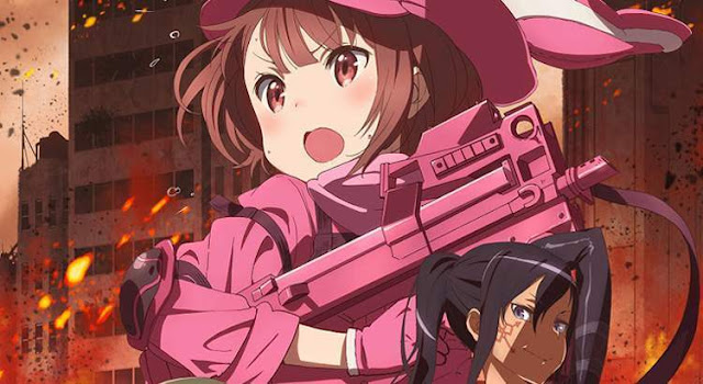 Sword Art Online Alternative (S3):Gun Gale Online BD Sub Indo (Episode 1-12)