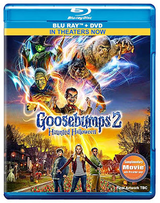 Goosebumps 2 2018 Dual Audio ORG BRRip 480p 300Mb ESub x264