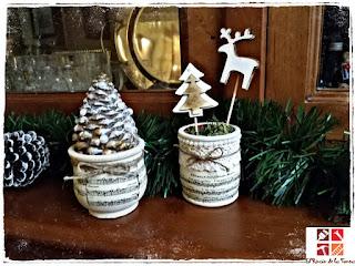 como hacer arbolitos navideños