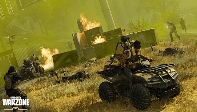 تنزيل لعبة  Call of Duty : Warzone 2020 الجديدة
