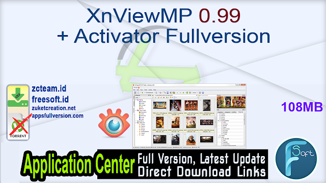 XnViewMP 0.99 + Activator Fullversion