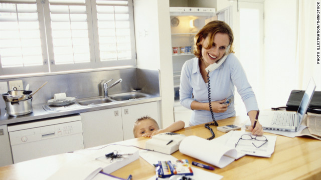 Pros and Cons of Being A Work at Home Mom