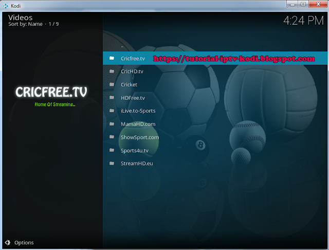 EPL streaming online with Sportsdevil addon kodi