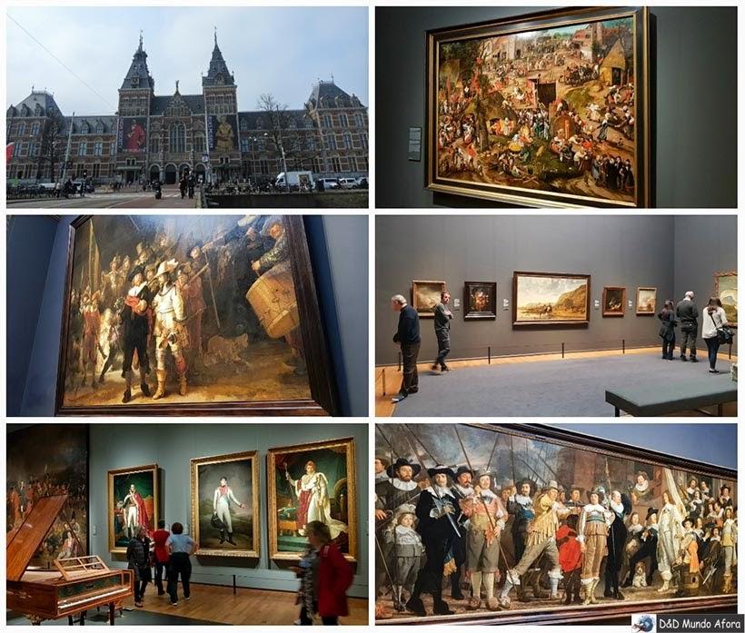 Rijksuseum - Diário de Bordo - 2 dias em Amsterdam